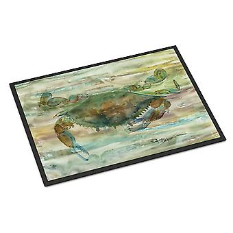 Carolines Treasures  SC2015JMAT Crab a leg up Sunset Indoor or Outdoor Mat 24x36