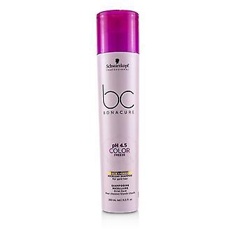 Schwarzkopf BC Bonacure pH 4.5 Color Freeze Gold Shimmer Micellar Shampoo (For Gold Hair) 250ml/8.5oz