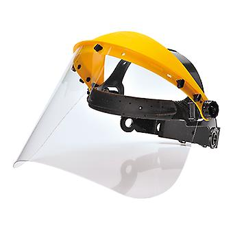 Portwest browguard with clear visor pw91