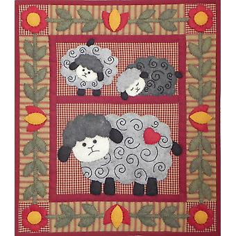 Twin Lambs Quilt Kit 13