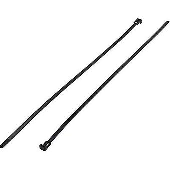 Cable tie set 500 mm Black Releasable KSS 1307021
