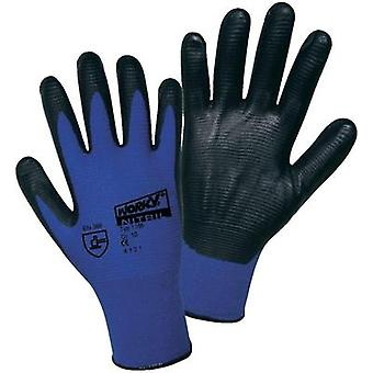 worky 1165 Super Grip polyamide nitrile fine knitted glove size 10 100% Polyamide with nitrile coating Size 10
