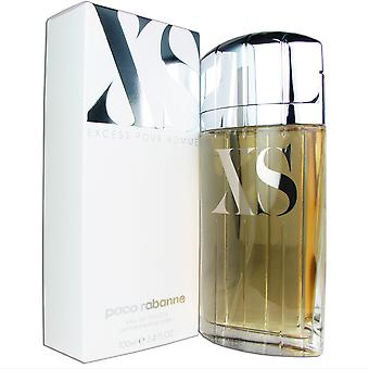 XS for mænd af Paco Rabanne 3,4 oz 100 ml EDT Spray