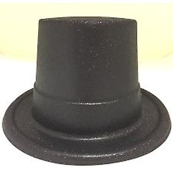Glitter Top Hat - Noir