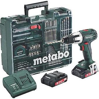 Metabo SB 18 LT Cordless impact driver 18 V 2 Ah Li-ion incl. spare battery, incl. case, incl. accessories