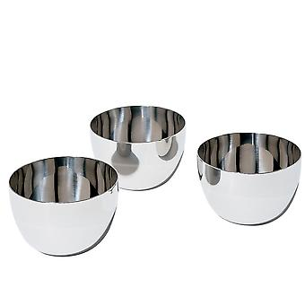 Alessi Mami fondue Bowl set of 3 set stainless steel - SG59