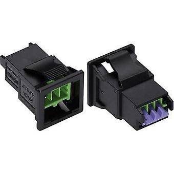 Mains connector ATT.LOV.SERIES_POWERCONNECTORS WINSTA KNX Plug, straight Total number of pins: 2 3 A Green WAGO 893-201