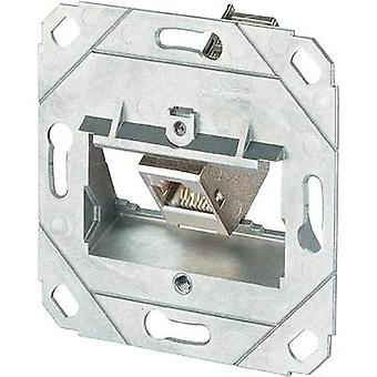 Network outlet Flush mount Insert CAT 6A 1 port Metz Connect