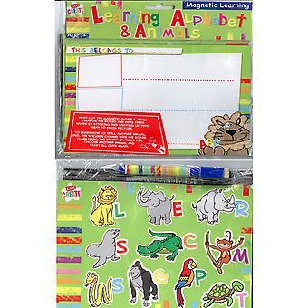 Magnetiske læring alfabet og dyr
