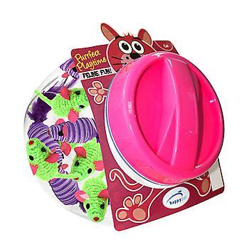 Fiesta Mice Cat Toy Display Jar (Pack of 60)
