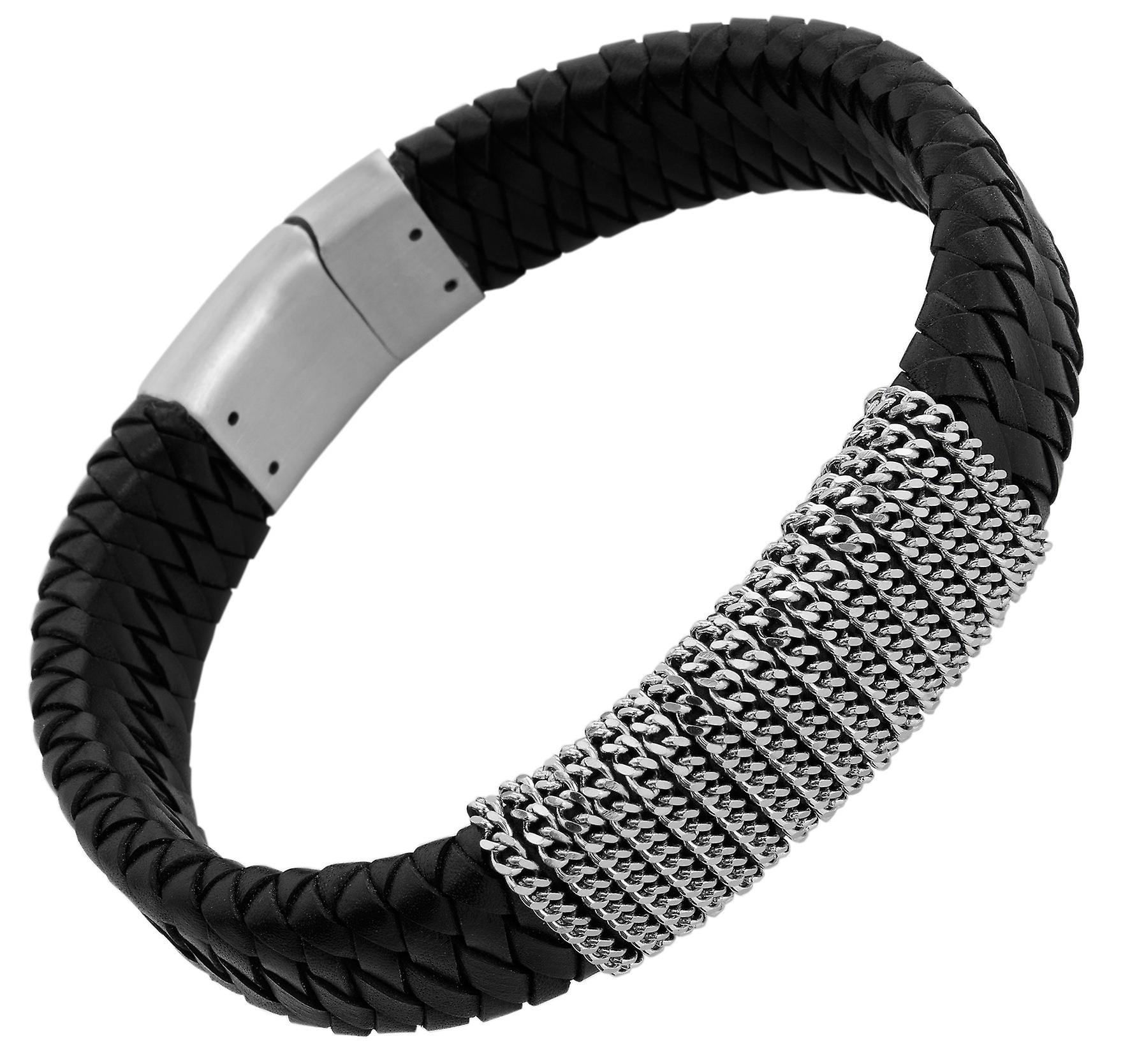Burgmeister Leather bracelet, JBM4007-755