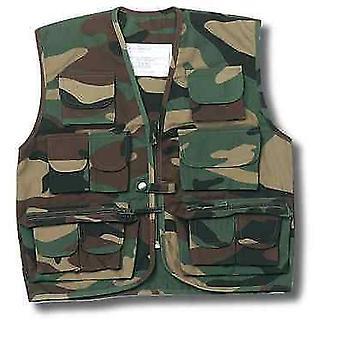 Nowy mundur armii Vest kamizelka dzieci Multi Pocket