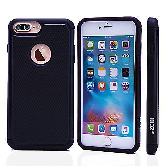 32dre støt bevis Case + pekepennen for Apple iPhone 7 pluss / iPhone 8 Plus - svart
