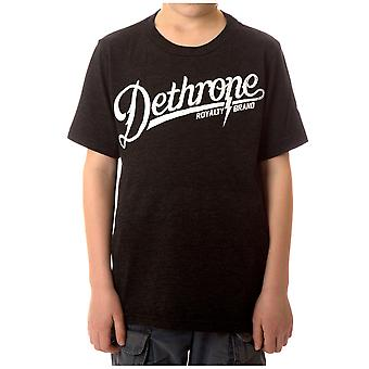 Detronisere Kid's Bolt Camp T-Shirt - Black