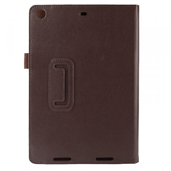 Cover Art Leather Case Brown for Apple iPad Air