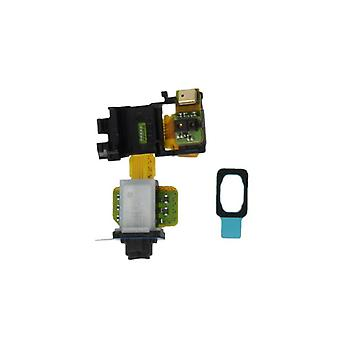 3.5 mm audio connection + gasket replacement part for Sony Xperia Z3 D6603