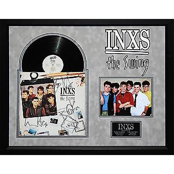 INXS - The Swing Signed Album