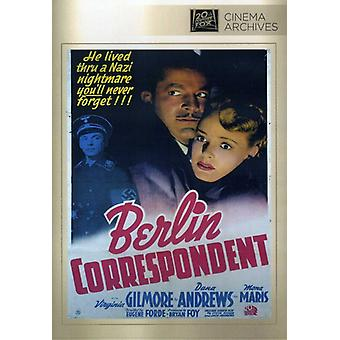 Berlin Correspondent [DVD] USA import