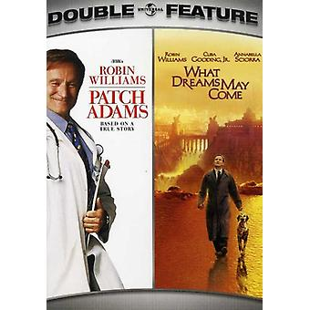 Patch Adams/What Dreams May Come [DVD] USA import