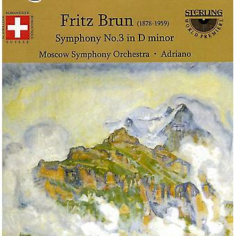 F. Bruns - Fritz Brun: Symfoni No. 3 i D-mol [CD] USA import