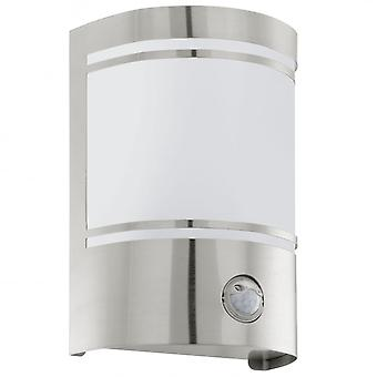 Eglo CERN Outdoor Stainless Steel Wall Light