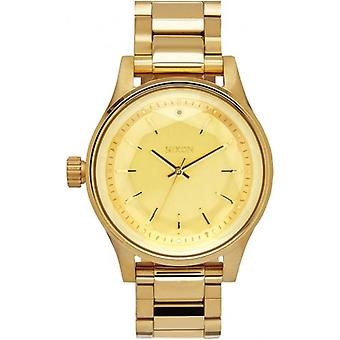 Nixon The Facet 38 Watch - Gold