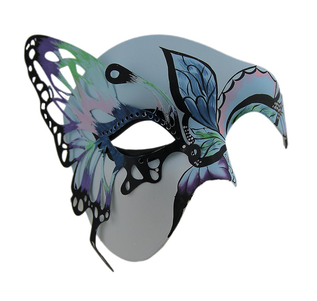 Butterfly Masquerade Colorful Half Face Mask