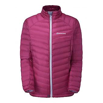 Montane Womens Featherlite Down Micro Jacket French Berry (UK Size 16)