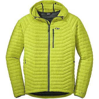 Outdoor Research Mens Verismo Hooded Down Jacket Jolt (Large)