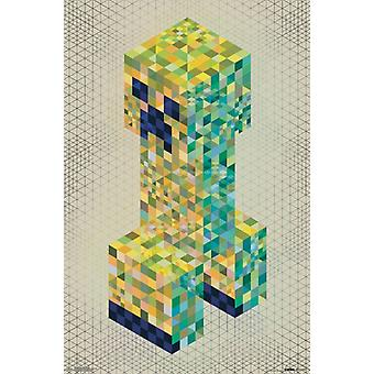 Minecraft - Creeperscope Poster Poster Print
