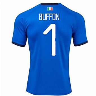 2018-19 Italia hjem skjorte (Buffon 1)