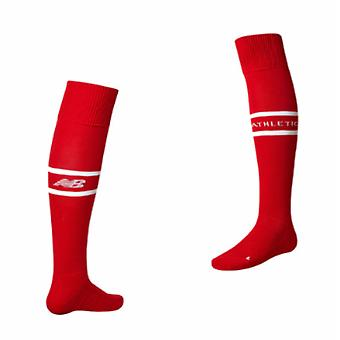 2017-2018 Athletic Bilbao Home Socks (Red)