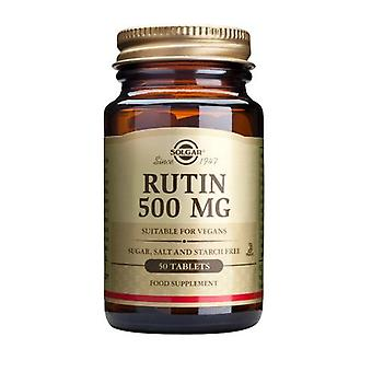Solgar, Rutin 500 mg Tablets , 50