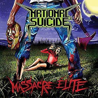 Nationale selvmord - massakren Elite [Vinyl] USA importerer