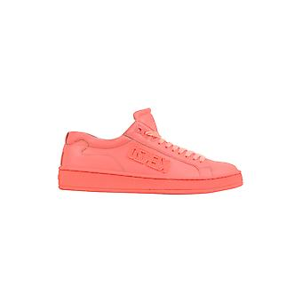 Kenzo women's F762SN128L5027 pink leather of sneakers