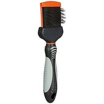 Trixie Soft Brush With Flexible Brush Head For Dogs
