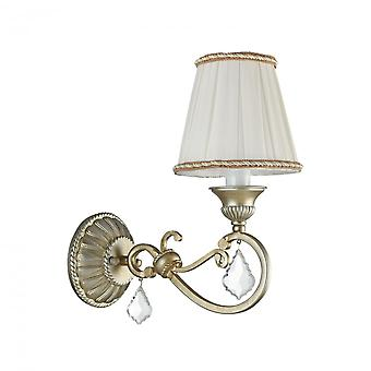 Maytoni Lighting Valbonne House Collection Sconce, Silver + Gold