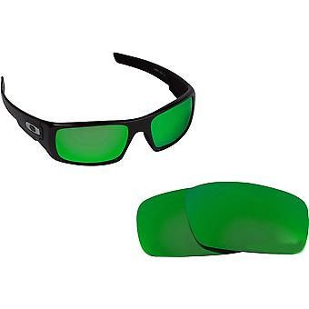 CRANKSHAFT Replacement Lenses Polarized Green by SEEK fits OAKLEY Sunglasses