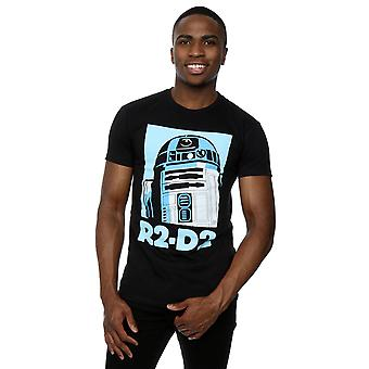 Star Wars Men's R2-D2 Poster T-Shirt
