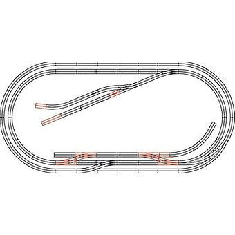 H0 Roco GeoLine (incl. track bed) 61104 Expansion set