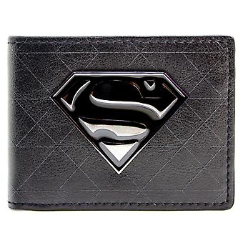 DC Comics Superman Symbol Badge ID & Card Bi-Fold Wallet