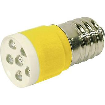 LED bulb E14 Yellow 24 Vdc, 24 V AC 1050 mcd CML