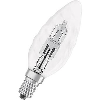 Eco halogen OSRAM 230 V E14 46 W Warm white EEC: D Candle shape dimmable 1 pc(s)