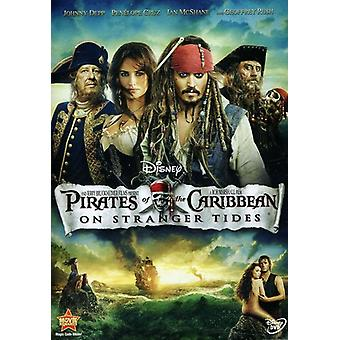 Pirates of the Caribbean: On Stranger Tides [DVD] USA Import