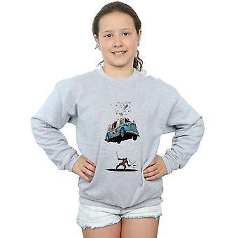 Marvel Mädchen Deadpool Eis Sweatshirt