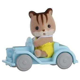 Sylvanian Families Carry baby (Squirrel In Car)