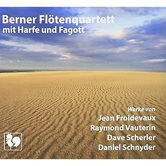 Froidevaux/Vauterin/Scherler - fire schweiziske komponister udforske verden [CD] USA importen