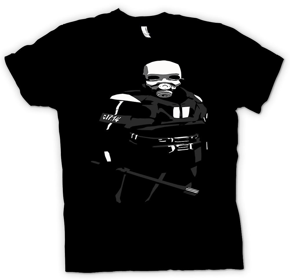 Mens T-shirt - Riot Police - Police State