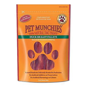 Pet Munchies Fillet Dog Treat (80g) Flavour: Duck Breast