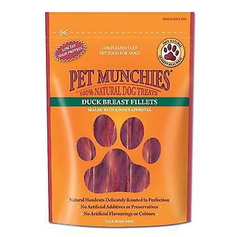 Pet Munchies filet hund Treat (80g) smag: Duck bryst